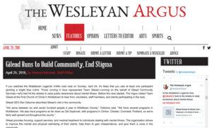 Wesleyan article snapshot