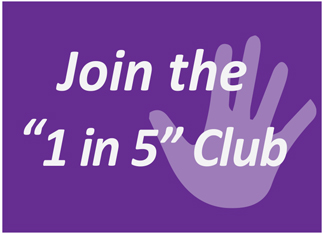 1in5Clubpurple